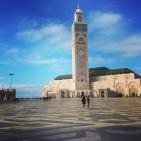Mosquée Hassan II à Casablanca