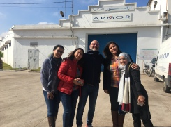 Partie du Staff féminin d'Armor à Birjdid